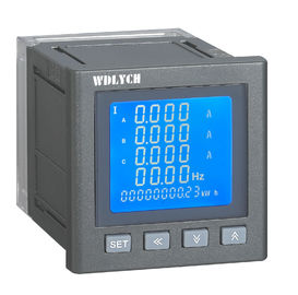 China 120*120mm Wdy-2e Digital Multifunktionsmeter Lcd-Anzeige mit Kommunikation Rs485 distributeur